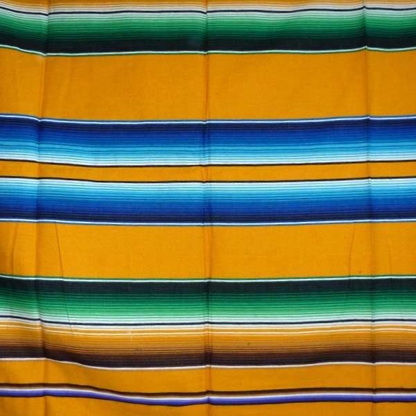 Mexican Blanket Multicolour Yellow No7