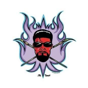 Poster Pop Sticker Von Franco Artist Crest VFS08