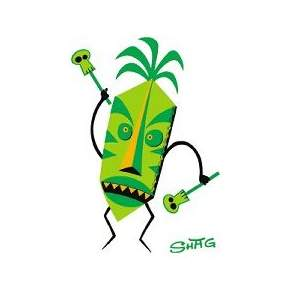 Poster Pop Shag Tiki Doctor Sticker SHS39