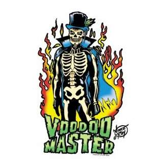 Poster Pop Vince Ray Voodoo Master Sticker VRS18